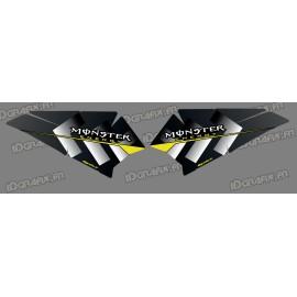 Kit de decoració Baixos Porta Monstre Edició - IDgrafix - Polaris RZR 900/1000 -idgrafix