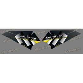 Kit dekor Tür-Bass-Monster Edition - IDgrafix - Polaris RZR 900/1000 -idgrafix