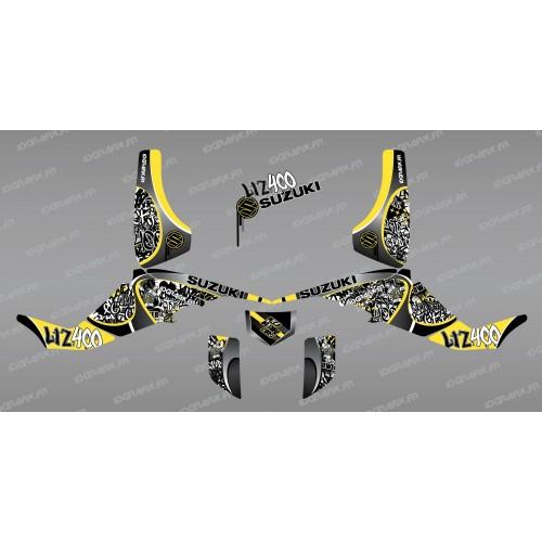 Kit-dekoration-Tag, Gelb - IDgrafix - Suzuki LTZ 400