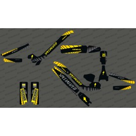 Kit déco GP Edition Full (Jaune) - Specialized Kenevo-idgrafix