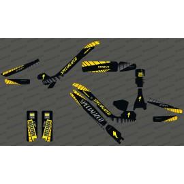 Kit deco GP Edizione Completa (Giallo) - Specializzata Kenevo -idgrafix