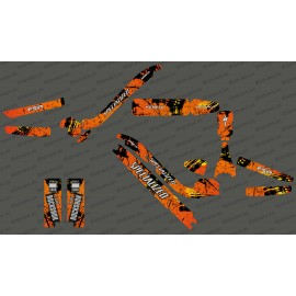 Kit déco Brush Edition Full (Orange) - Specialized Kenevo-idgrafix
