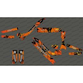 Kit deco Pennello Edizione Completa (Arancione) - Specializzata Kenevo -idgrafix