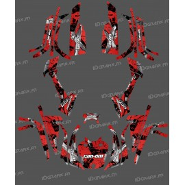 Kit deko-Light Brush (Rot) - IDgrafix - Can-Am L-serie Outlander -idgrafix