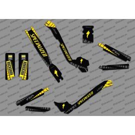 Kit déco GP Edition Full (Jaune) - Specialized Turbo Levo-idgrafix