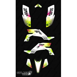 Kit decoration Splash series (White) - IDgrafix - Yamaha YFZ 450 / YFZ 450R