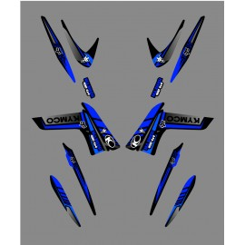 Kit Deco Fox Edition (Azul) - Kymco 400/450 Maxxer