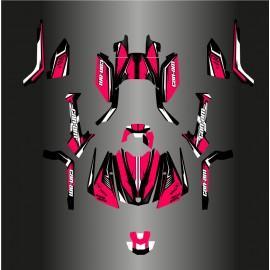 Kit dekor Wasp Full Edition (Pink) - IDgrafix - Can-Am Outlander G2 -idgrafix