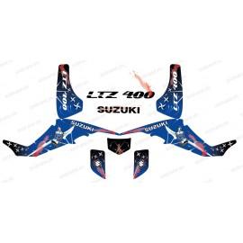 Kit decorazione Arma Blu - IDgrafix - Suzuki LTZ 400