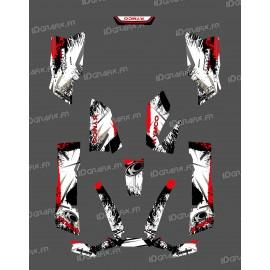 Kit Deco O Velocità Rosso - Kymco 550 / 700 MXU -idgrafix