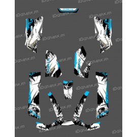 Kit Deco O Velocità di Blu - Kymco 550 / 700 MXU -idgrafix