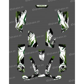 Kit-Deco-O Speed Grün - Kymco arctic cat 550 / 700 MXU -idgrafix