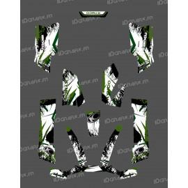 Kit Deco O Velocità di Verde - Kymco 550 / 700 MXU -idgrafix