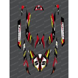 Kit de decoración de la Fábrica de Edición (Rojo) para Kawasaki Ultra 250/260/300/310R -idgrafix