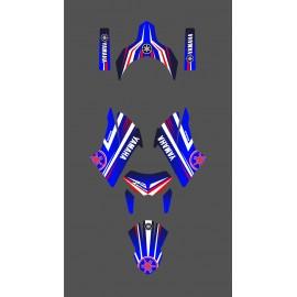Kit déco Factory Edition (Bleu) pour Yamaha 660 XT (après 2007)