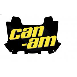 Kit decoration Black Can Am Edition - small chest AV BRP - IDgrafix