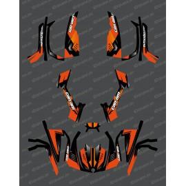 Kit dekor Full Wasp (Gelb) - IDgrafix - Can-Am L-serie Outlander -idgrafix