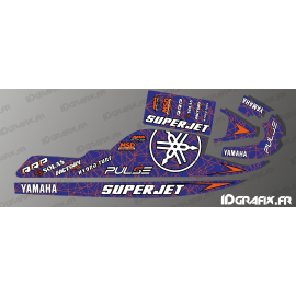 Kit decoration 100% custom Rossi replica for Yamaha Superjet 700-idgrafix