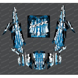Kit de decoración de la Caída de Edición (Azul)- IDgrafix - Polaris RZR 1000 Turbo