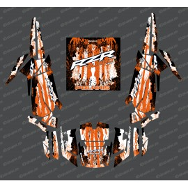 Kit de decoración de la Caída de Edición (Naranja)- IDgrafix - Polaris RZR 1000 Turbo