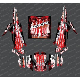 Kit décoration Drop Edition (Rouge)- IDgrafix - Polaris RZR 1000 Turbo-idgrafix