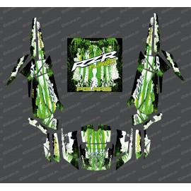 Kit de decoración de la Caída de Edición (verde)- IDgrafix - Polaris RZR 1000 Turbo