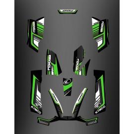 Kit Deco 700exi Limitada Verde - Kymco 700 MXU -idgrafix