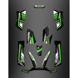 Kit Deco 700exi Limited Green - Kymco 700 MXU-idgrafix