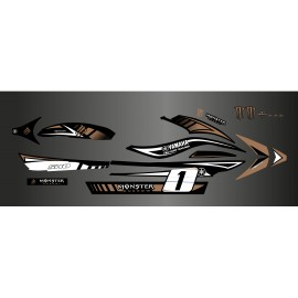 Kit deco 100% perso Monster Brun - Yamaha FX (1er génération)-idgrafix