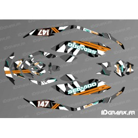 Kit décoration Full Camo Digital - SEADOO SPARK-idgrafix