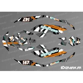 Kit de decoración, Llena de Camuflaje Digital - SEADOO CHISPA -idgrafix