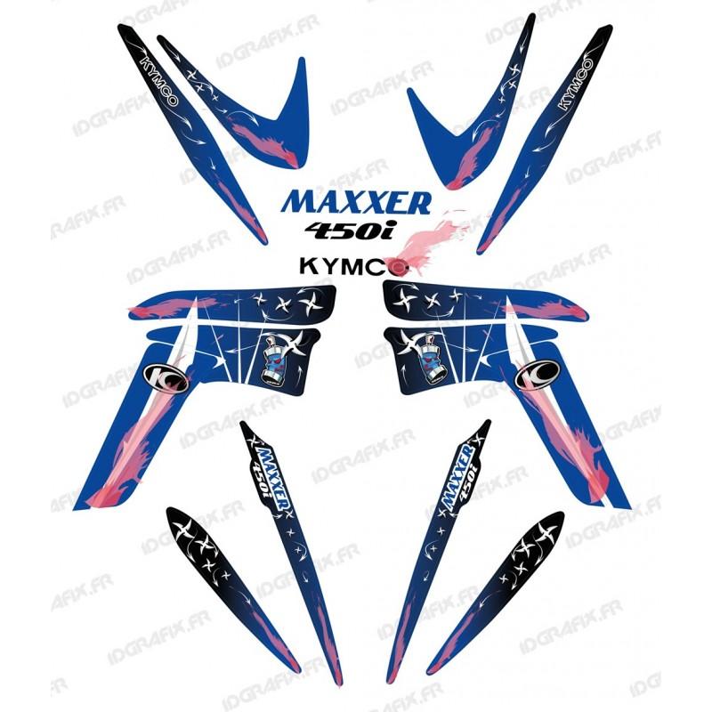 Kit decoration Weapon Blue - IDgrafix - Kymco 450 Maxxer-idgrafix