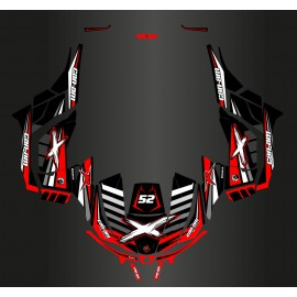 Kit décoration 100% Perso - Can Am Maverick RACE + Portes - M.PAROT-idgrafix