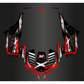 Kit dekor 100% Perso - Can Am Maverick RASSE + Tren - Herr PAROT -idgrafix
