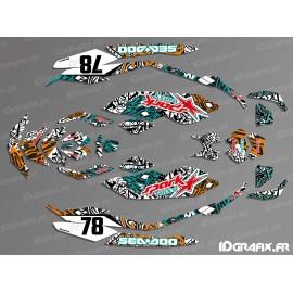 Kit di decorazione, Completo di ARTI Edizione - SEADOO SCINTILLA -idgrafix