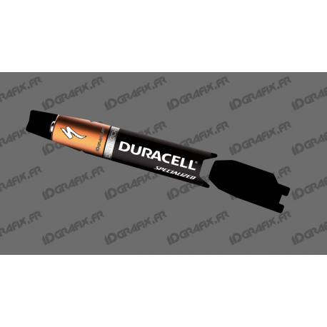 Sticker protection Battery - Duracell Edition - Specialized Turbo Levo/Kenevo-idgrafix
