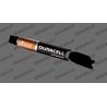 Etiqueta engomada de la protección de la Batería Duracell Edición - Specialized Turbo Levo/Kenevo -idgrafix