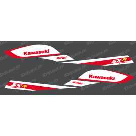 Kit decoration Replica Factory (Red/White) for Kawasaki SXR 800 - IDgrafix