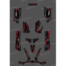 Kit Deco Perso Monster Edition - Rosso Kymco 550 / 700 MXU -idgrafix