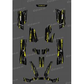 Kit Deco Perso Monster Edition Giallo Lime - Kymco 550 / 700 MXU -idgrafix