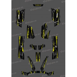 Kit Deco Perso Monster Edition Yellow Lime - Kymco 550 / 700 MXU-idgrafix