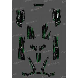 Kit Deco Perso Mostro Edizione Verde - Kymco 550 / 700 MXU -idgrafix
