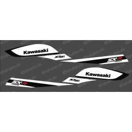 Kit decoration Replica Factory (Black/White) for Kawasaki SXR 800 - IDgrafix