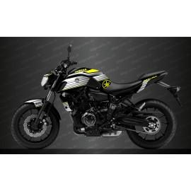Kit décoration Racing Jaune - IDgrafix - Yamaha MT-07 (après 2018)