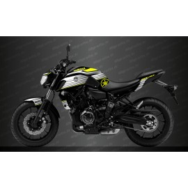 Kit decorazione Racing Giallo - IDgrafix - Yamaha MT-07 (dopo il 2018) -idgrafix