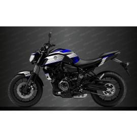 Kit décoration Racing Bleu - IDgrafix - Yamaha MT-07 (après 2018)