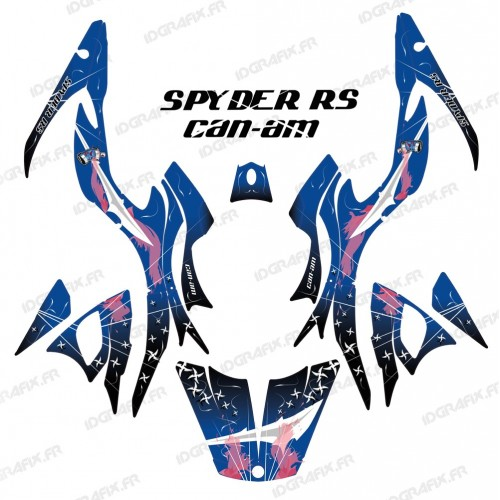 Kit de decoració Arma Blau - IDgrafix - Am RS Spyder