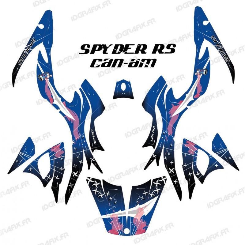 Kit de decoración de Arma Azul - IDgrafix - Can Am Spyder RS
