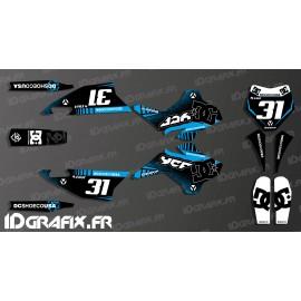 Kit de decoración 100% Personalizado DC - YCF 125 SP3 -idgrafix