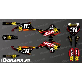 Kit decoration 100% Custom Rockstar - YCF 125 SP3-idgrafix